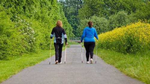 Nordic walking útvonalak